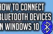 Comment faire pour connecter des périphériques Bluetooth dans Windows 10