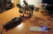 3 doigts de main de robot Arduino