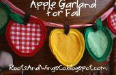 Comment faire une guirlande de Apple pour l'automne ou le dos à l'école