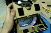 Google carton HMD pour Tablet