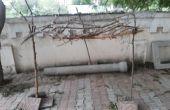 Cabane de pique-nique extérieure bricolage qu'à partir de bâtons