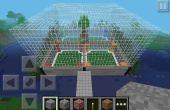 Comment faire une arène de construire rapide Minecraft PE