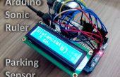 Animés Sonic Ruler / capteur de stationnement à l'aide d'Arduino