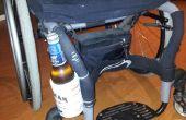 Porte-boisson/Can/bouteille fauteuil roulant