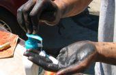 Nettoyer les mains grasses avec Lotion - Gojo du pauvre