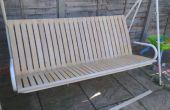 Comment rénover un siège de jardin avec lattes lit IKEA