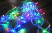Arduino contrôlée clignotant Noël guirlande lumineuse avec Jingle Bells