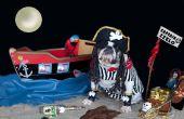 Capitaine Zeelo-Bulldog Pirate avec bateau et accessoires