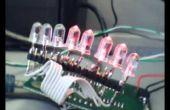VU-mètre LED sur un Freescale HCS08