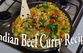 Recette de Curry indien fait maison