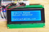 Détecteur de mouvement contrôlé Arduino