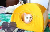 Tente de bricolage chat