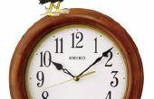 Horloge coq framboise Pi