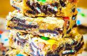 Chargement des barres de biscuit