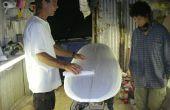 Construire un Surfboard Episode 2: Ponçage