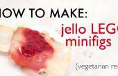 Comment faire le jello LEGO minifigs