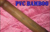 Faire Faux PVC bambou