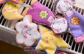 Réfrigérateur de tissu aimants pour les enfants