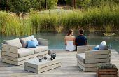BRICOLAGE mobilier de jardin en plein air