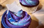 Cupcakes sur le thème Galaxy