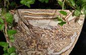 Béton décoratif - Mokume Gane méthode