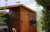 BRICOLAGE - jardinage cabane avec abri barbecue