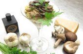 Truffé de purée de pommes de terre aux champignons sauvages