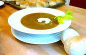 Soupe de patate douce au curry