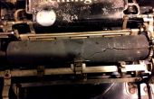 Rénover une vieille platine de machine à écrire