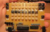 Calculatrice binaire LED