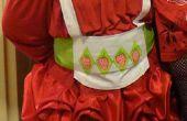 Costume de Shortcake aux fraises