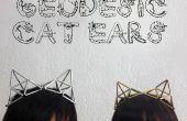 Géodésique chat oreilles bijoux accessoire