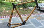 Monter une bicyclette de bambou (et l'éclaire!)