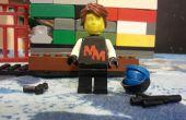 Faire une tête de figue mini LEGO 3D personnalisée