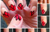 Tulipes Nail Art Design
