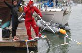"""Comment """"Voler"""" un hydroptère actionné humain - le """"Aquaskipper"""""""