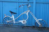 Vélo Chopper de trouvé des matériaux