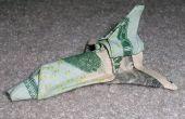 Origami Dollar Bill navette spatiale