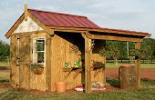 Construire ce Potting Shed