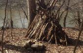 Comment faire un Site de Camp de survie dans les bois