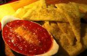 Pain plat apéritif w/grillées tomates et fromage de chèvre (aka délicieux apéritif)