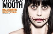 Cousu la bouche - SFX maquillage Tutorial