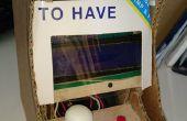 Petite arcade avec mini (ANTI MISSILE ROBOT _part 3)