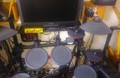 Batterie électronique pas cher bricolage Kit cymbales