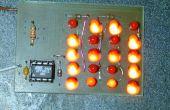 Comment conduire un grand nombre de LEDs de quelques pins de microcontrôleur.
