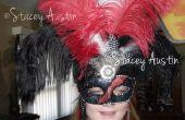 Mascarade bricolage masque gothique