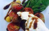 Caprese tomates Heirloom