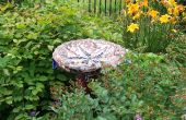 Créez un ornement de jardin mosaïque excentrique