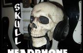 Fixé au mur support casque Skull