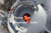 Fonderie d'Aluminium de réservoir propane (sans soudure).